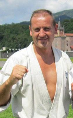 Shihan Leonardo Adriá Seleccionador Kumite - Branch Chief