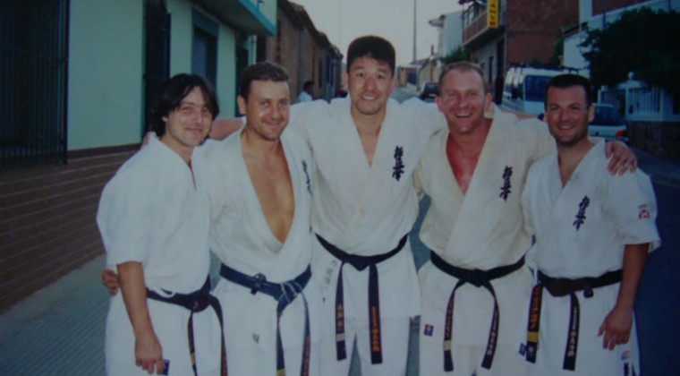 Summercamp 2001 with Shihan Sotodate