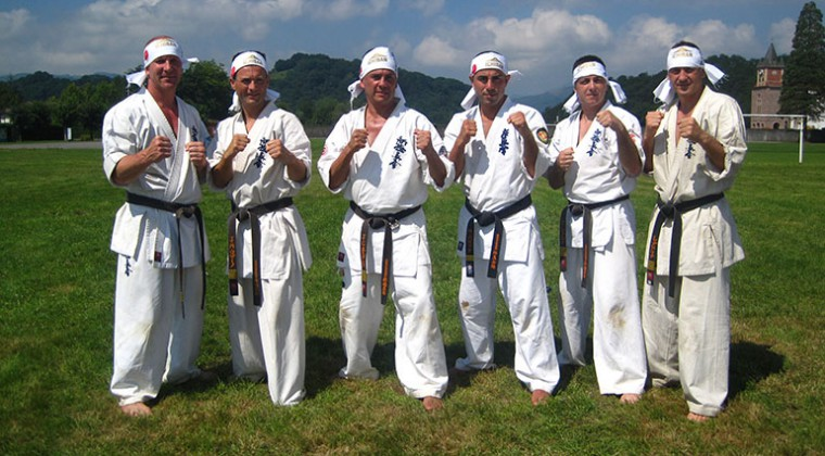 Summercamp 2011 with Sensei Bacak