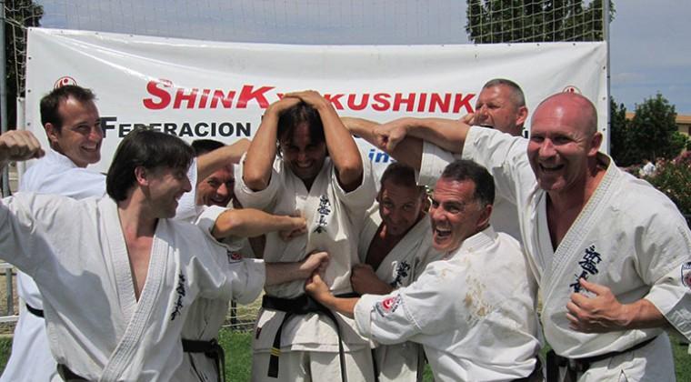 Summercamp 2013 attack Sensei Marius