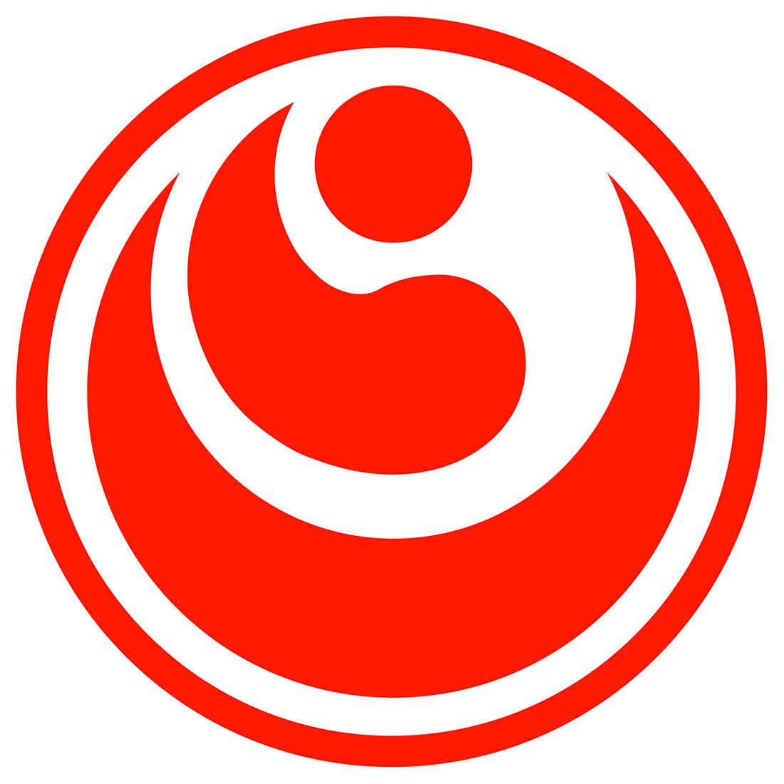 Resultado de imagen de kokoro simbolo kyokushinkai