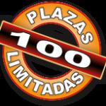100 plazas